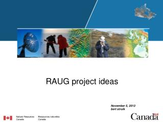 RAUG project ideas