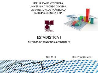 REPUBLICA DE VENEZUELA UNIVERSIDAD ALONSO DE OJEDA VICERRECTORADO ACÁDEMICO FACULTAD DE INGENIERIA