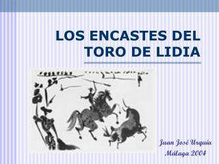 LOS ENCASTES DEL TORO DE LIDIA