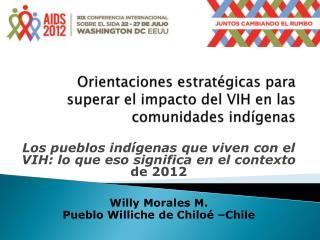 Orientaciones estratégicas para superar el impacto del VIH en las comunidades indígenas