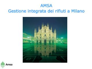 AMSA Gestione integrata dei rifiuti a Milano