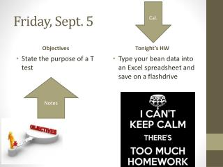 Friday, Sept. 5