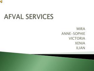 AFVAL SERVICES
