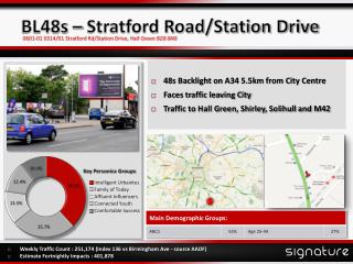 BL48s – Stratford Road/Station Drive