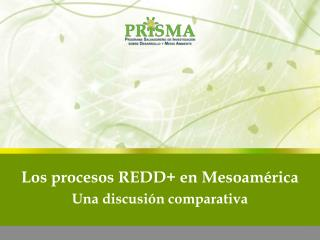 Los procesos REDD+ en Mesoam�rica