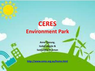 CERES Environment Park
