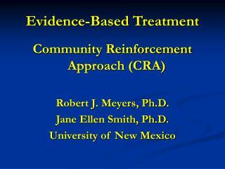 Evidence-Based Treatment