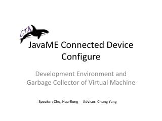 JavaME  Connected Device Configure