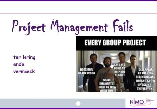 Project Management Fails