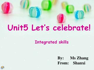 By:      Ms Zhang From:    Shanxi