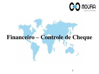 Financeiro – Controle de Cheque