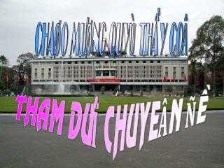 CHAØO MÖØNG QUYÙ THAÀY COÂ