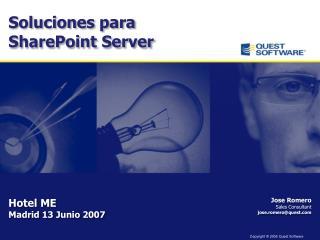 Jose Romero Sales  Consultant jose.romero@quest