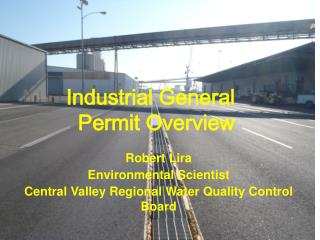 Industrial  General    Permit  Overview