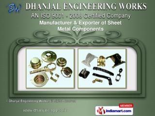 Sheet Metal Components & Gobos/Steel Gobos