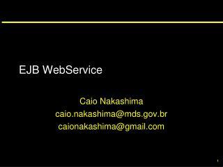 EJB WebService