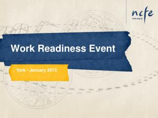Work Readiness Event