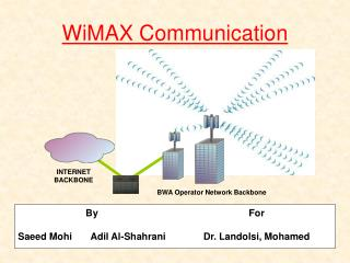WiMAX Communication