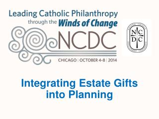 Integrating Estate Gifts  into Planning