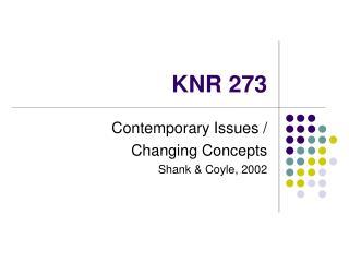 KNR 273