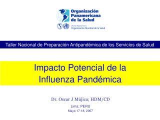 Taller Nacional de Preparación Antipandémica de los Servicios de Salud