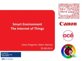 Smart Environment The Internet of Things