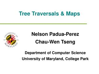Tree Traversals & Maps