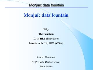 Monju ïc data fountain