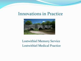 Innovations in Practice