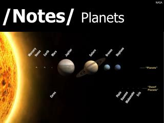 /Notes/  Planets