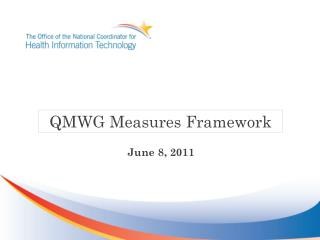 QMWG Measures Framework