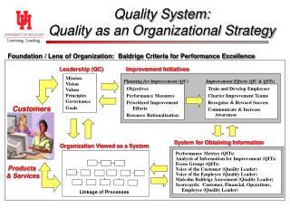 Performance Metrics (QITs) Analysis of Information for Improvement (QITs) Focus Groups (QITs)