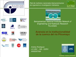 Iberoamerican National Institutes Network of Engineering and Hydraulic Research Roundtable