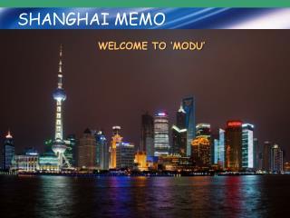 SHANGHAI MEMO