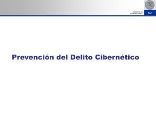 Prevenci�n del Delito Cibern�tico