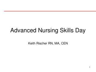 Advanced Nursing Skills Day