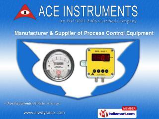 Digital Clock &  Vacuum Gauges