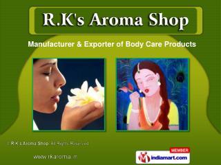 Facial Massage &  Herbal Oils