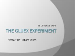 The  Gluex  Experiment