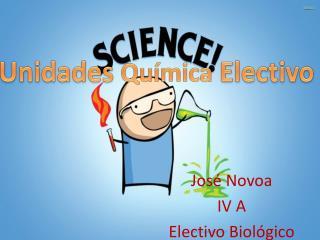 José Novoa IV A  Electivo Biológico