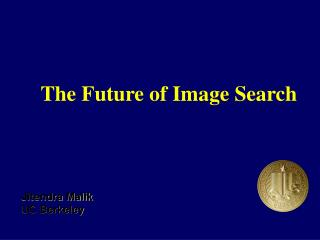 The Future of Image Search