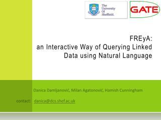FREyA : an Interactive Way of Querying Linked Data using Natural Language