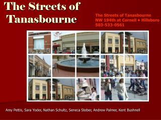 The Streets of Tanasbourne