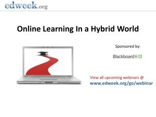 Online Learning In a Hybrid World