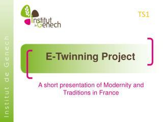 E- Twinning  Project