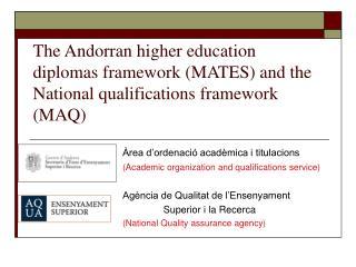 Àrea d'ordenació acadèmica i titulacions (Academic organization and qualifications service)