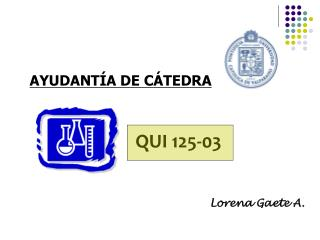 AYUDANT�A DE C�TEDRA
