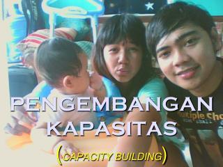 PENGEMBANGAN KAPASITAS  ( CAPACITY BUILDING )