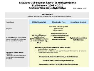 Neuvonta- ja palveluosaamisen kehittäminen Verkko-ohjauksen kehittäminen