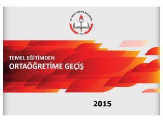 2014-2015 Öğretim Yılında
